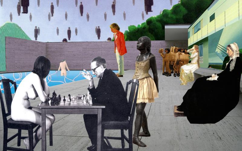 Artemis Potamianou, Re-view series , Chess Game