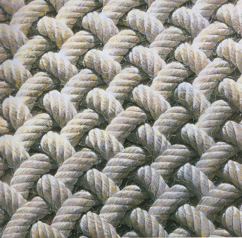Athina Latinopoulou,White knitwear,Painting