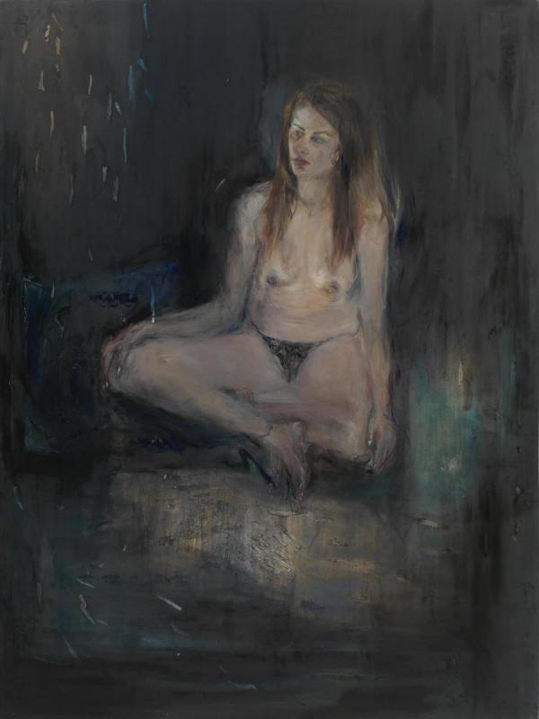 Christina Adam, Oil on Canvas, 2019