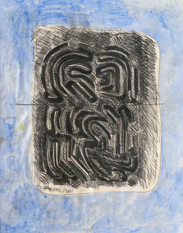 Chryssa, Untitled, 1967