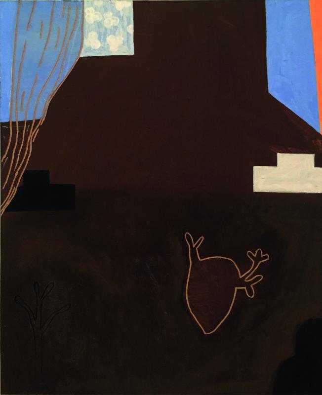 Dodog Soeseno, Untitled, 2018, MDF, 25 x 32 cm