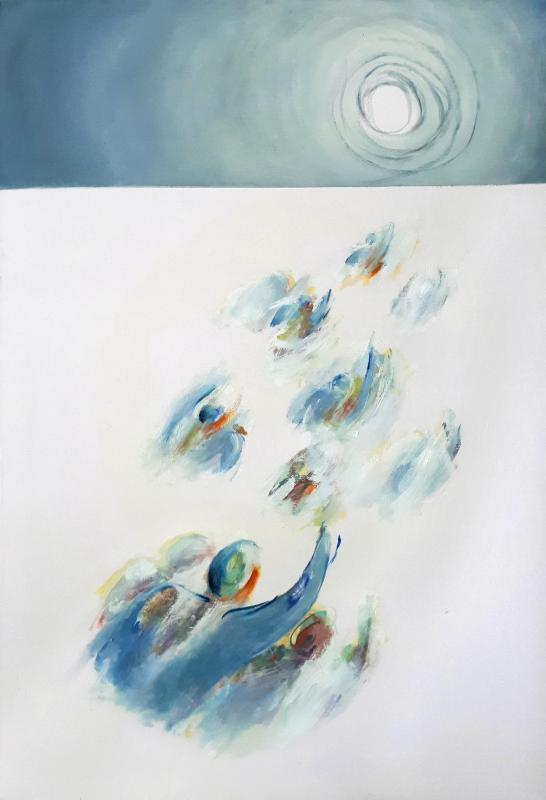 Geompre Fani,Return,70x100 cm