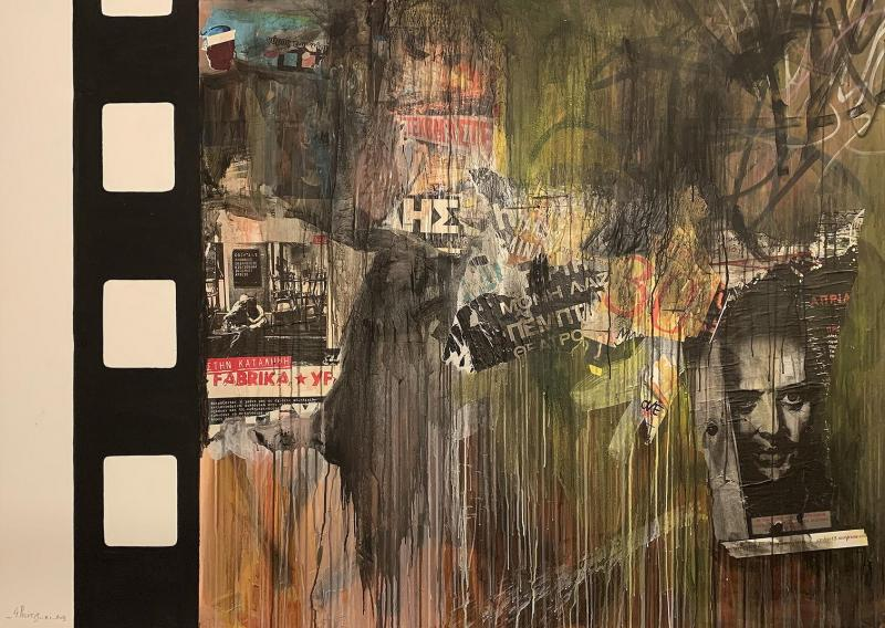 George Politis, Les Miserables in Greece, Mixed media