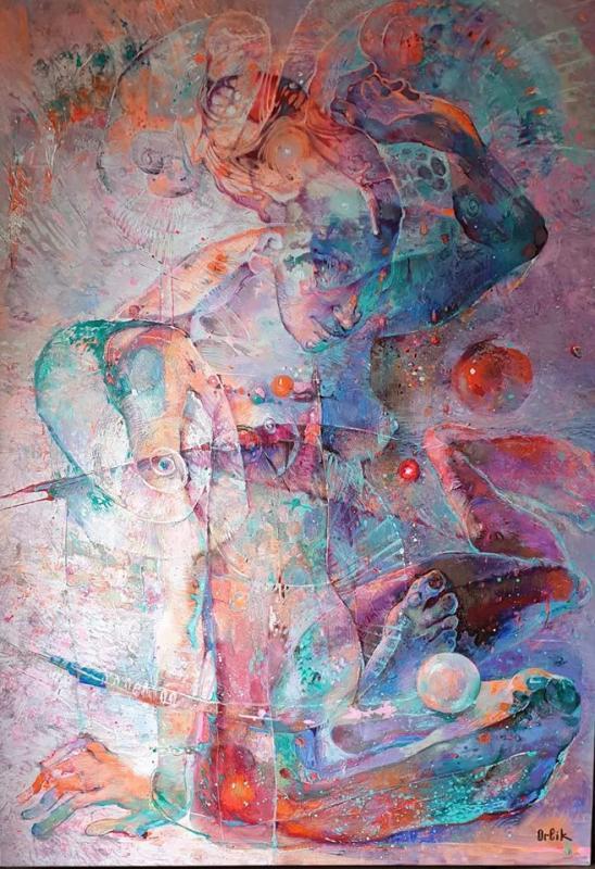 Inna Orlik, Pearl, 120x85cm