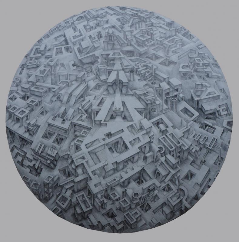 Ioanna Kazaki,Pencil on paper
