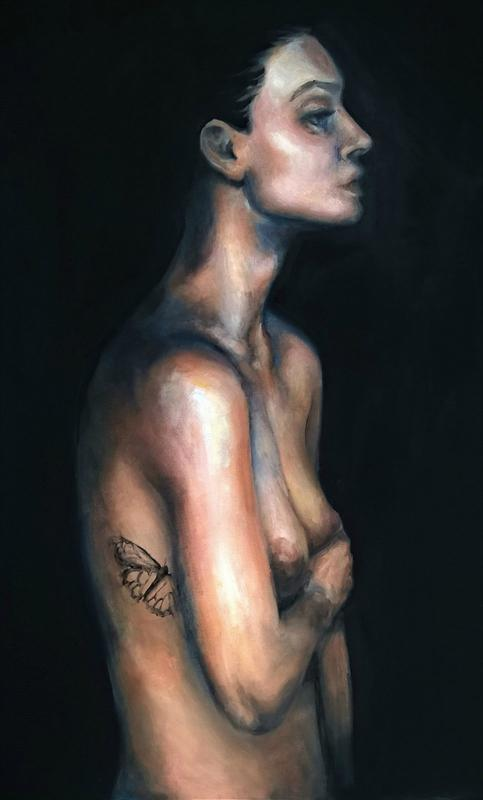 Katerina Christou Untitled 2018, oil on canvas, 50x70cm