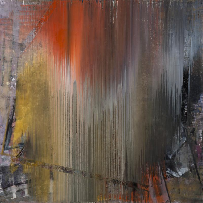 Katerina Rimpatsiou, untitled, 2016, oil on canvas 180X180