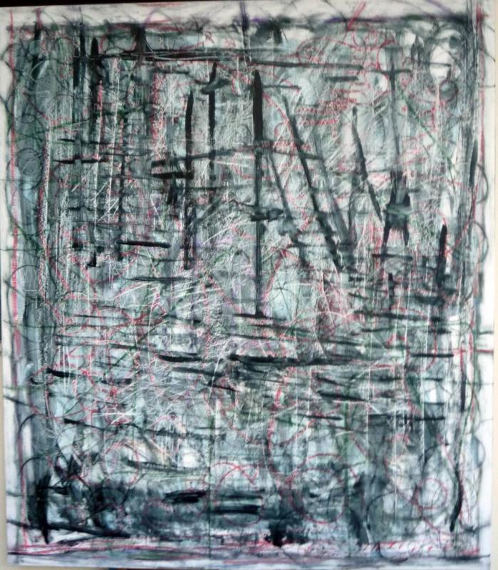Kleoniki Maragkou,120x109 cm, oil on canvas