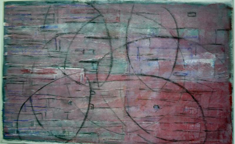 Kleoniki Maragkou, Oil on canvas, Untitled, 60x30, 2015