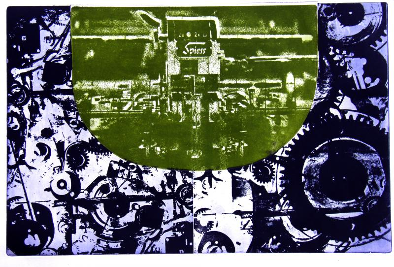 Manolis Yannadakis, printing Field I