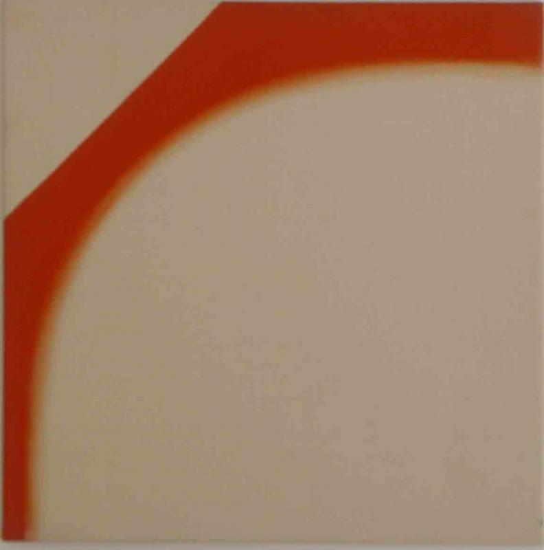 Michaelides, Michael, Untitled, 1962, Acrylic on Canvas, 51x51cm