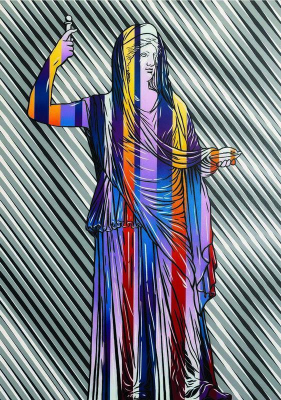 Michal Maka,Hera,Painting