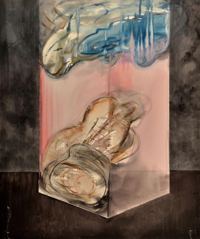 Michalos Konstantinos, acrylic and oil on canvas, 120x100cm, 2015