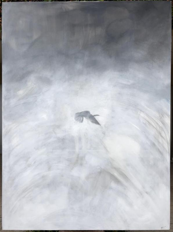 Nana Winter-Georgiadou    Untitled   190x140 cm   Oil on canvas