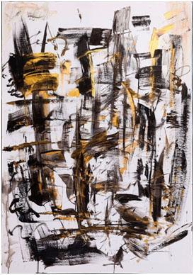 NATALIA VALLIANOU GOUROVA,TONALITIES, 2016, ACRYLIC ON CANVAS, 70x100 cm