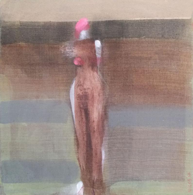 Nikos Terzis , SILENTIA, oil on canvas, 2016