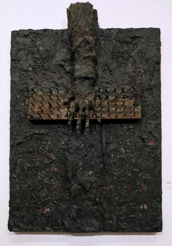 Panayiotis Nezis,Askitiki, 70X105 cm