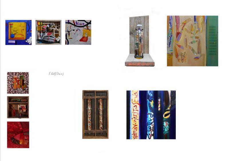 S.Kotsireas –4Χ  Small art work compositions