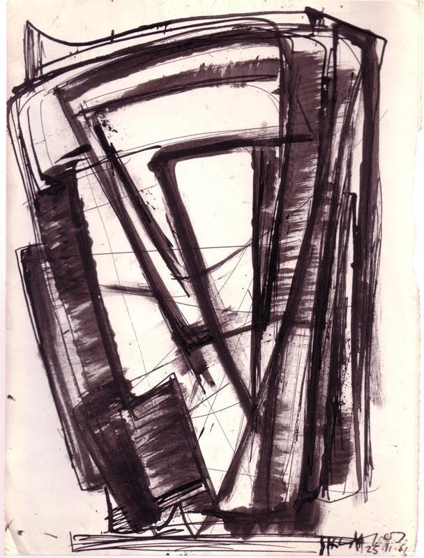 Sklavos Yerasimos, Untitled, Drawing