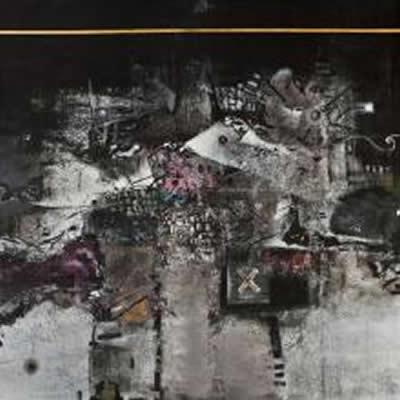 Stavros Ditsios,Untitled,160x160cm