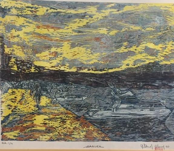 Sukran Ulucan Sariyer,Wood print,55 x 65