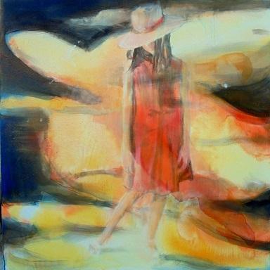 Tasos Dimos, acrylic, 40 x 50 cm