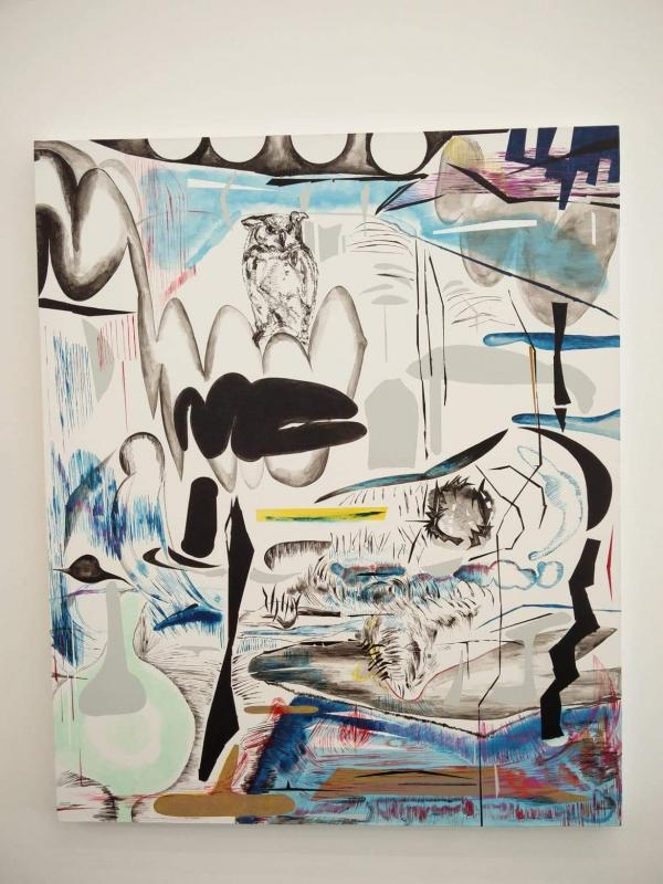 Vana Fertaki_untitled_2017_oil on canvas_Donopoulos International Fine Arts
