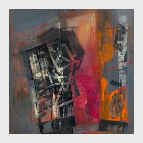 02 Katerina Rimpatsiou, untitled, 2016, oil on canvas 180X180