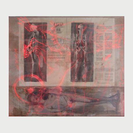 Christos Antonaropoulos, ATIER OD, mix medea, 67x57cm