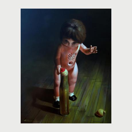 Giorgos Iliadis, Painting, 2019