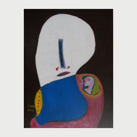 Liapis, Love Silence, 105x75cm