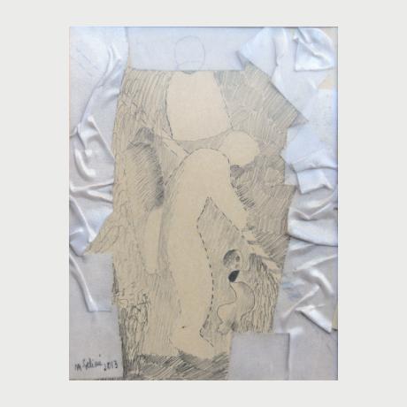 Merita Selimi, 1967, Drawing 2, 2013, 20x15 cm