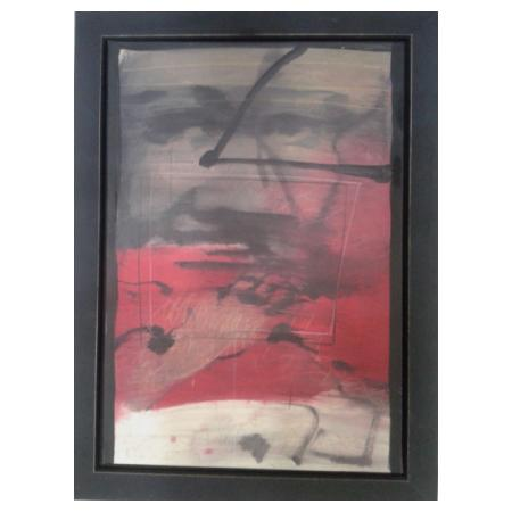 Polymeris Manolis,Untitled 2015, Oil on Canvas, 100x70cm