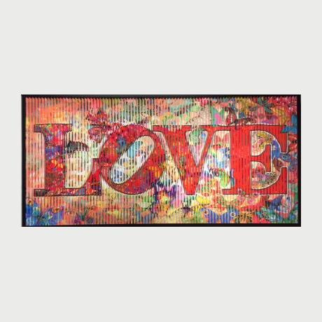 Rubinstein  Patrick, Voracious love II, 2017, 85X150 cm