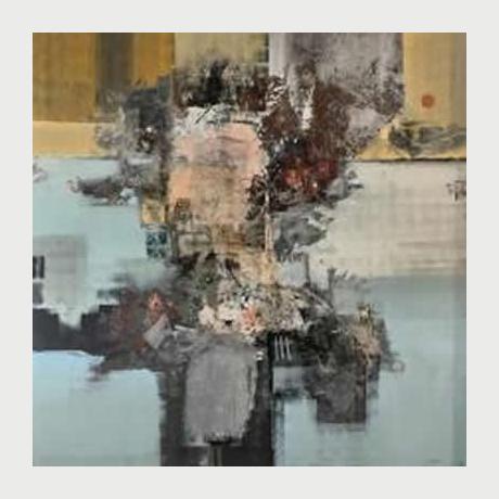 Stavros Ditsios, Untitled, 200x200cm